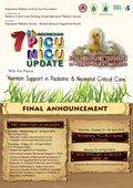 7th INDONESIAN PICU NICU UPDATE