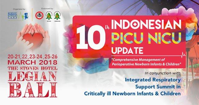 10th Indonesian PICU NICU Update